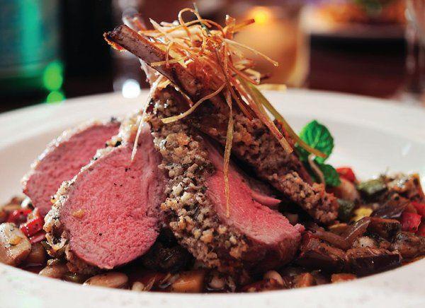 Plated dinner - Lamb Chops
