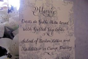 Inviting Ideas--Calligraphy and Invitations