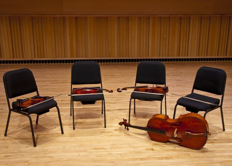 1 quartet, 4 instruments, 16 strings
