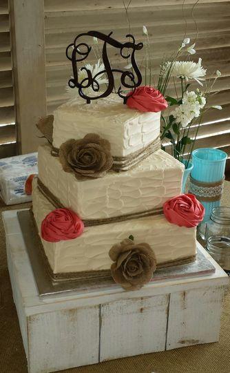 lindsey wedding 3 tier wedding cake march 2014