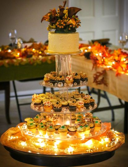 Fall Weding Tower