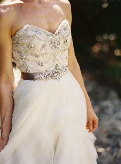 Bride creative portrait