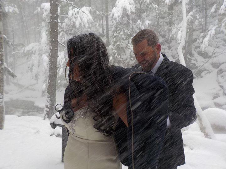 Blizzard Wedding