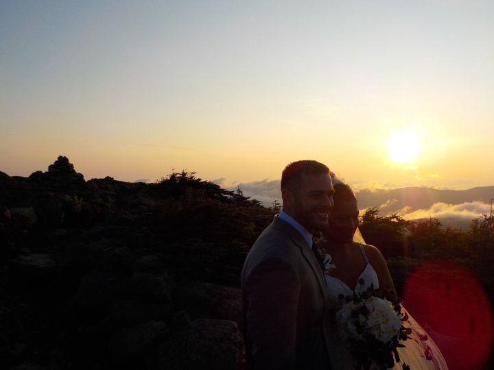 Mountaintop sunrise