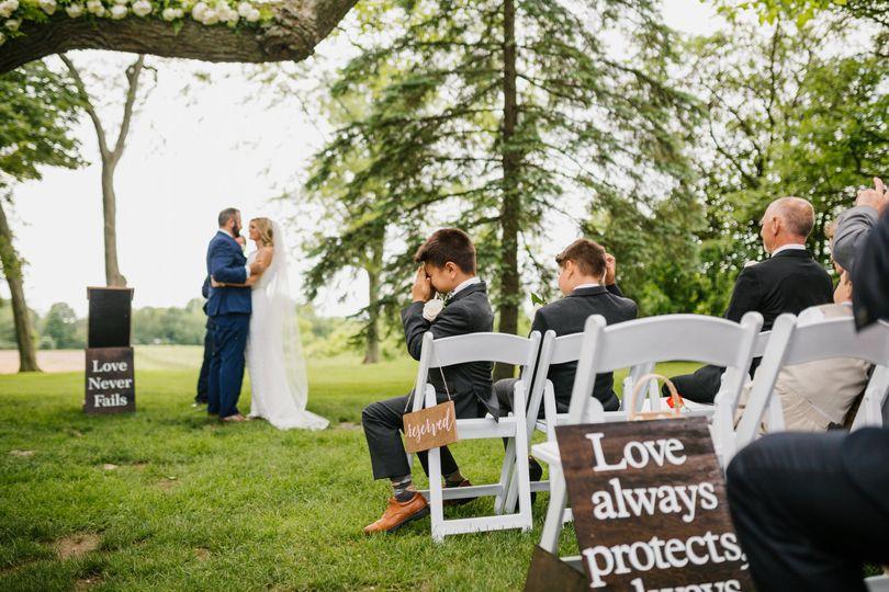 Hidden Vineyard Wedding