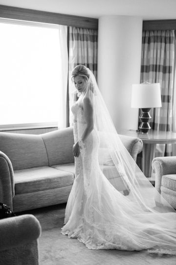 bride's portrait