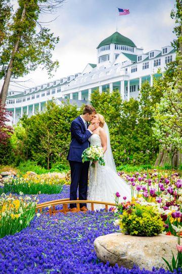 Secret Garden at the Grand Hotel