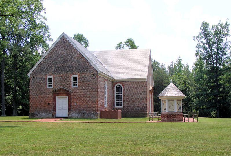 Old st. John's church