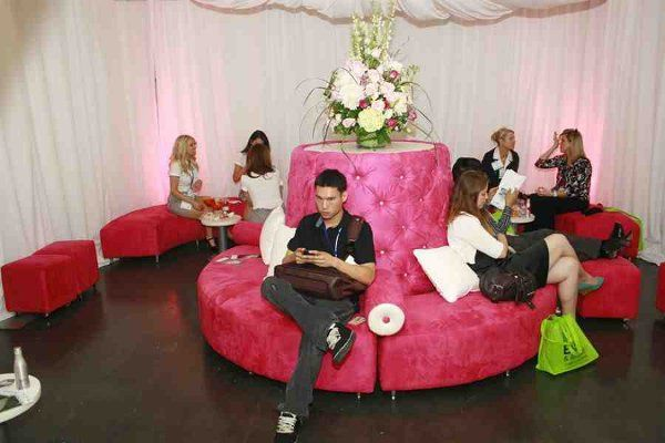 Pink Lounge sponsored by Lounge Appeal