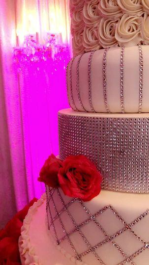 The cake's close-up!