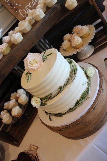 olive branch cake