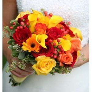 Tmx 1307725004718 Fallbouquet White Plains wedding florist