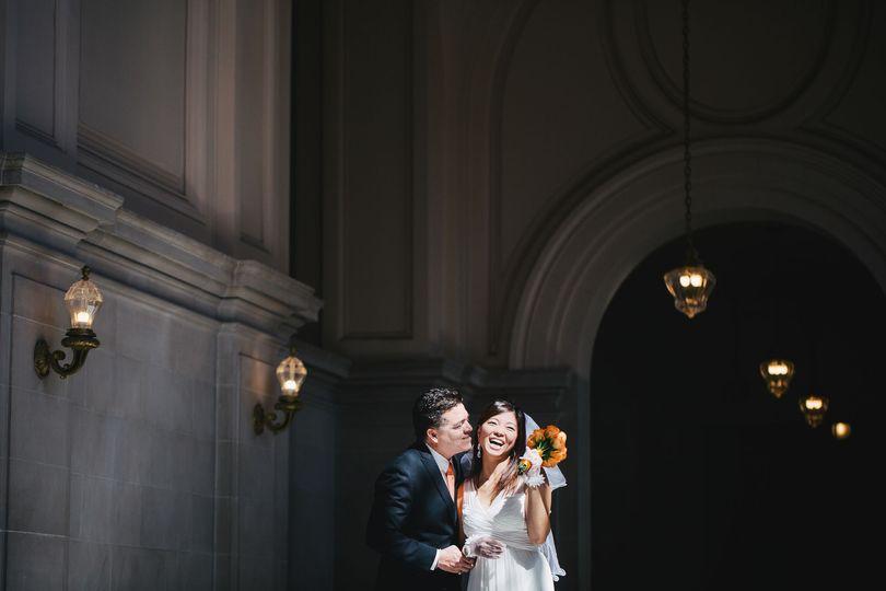 Sf city hall couple