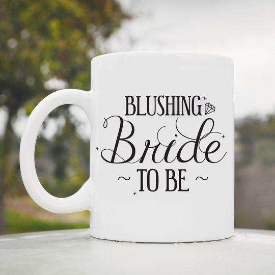 blushing bride to b