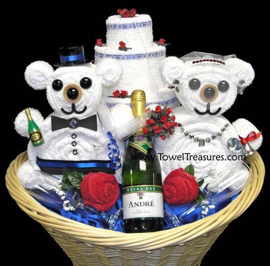 weddingtowelgiftbasket