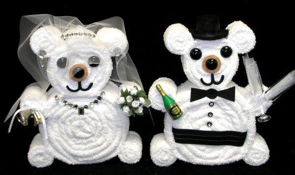 bridegroomtowelbearsweddinggiftscenterpieces