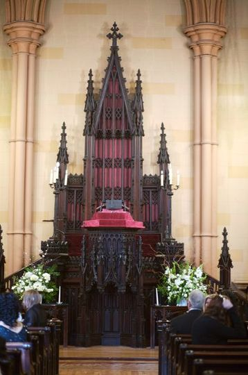 The gothic architecture of our beloved Sanctuary hardly needs any decoration!