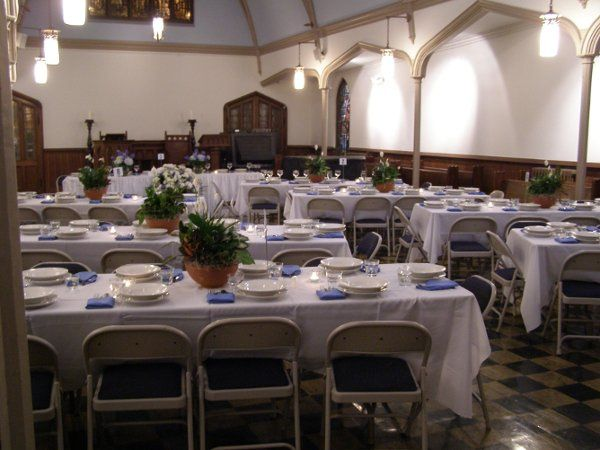 Our chapel is also a great place for a dinner or champagne reception.