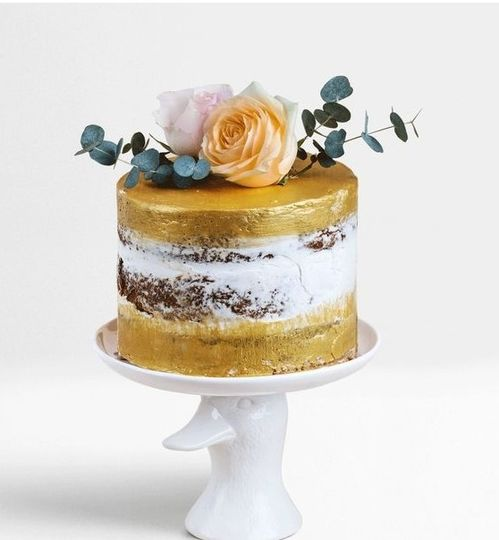 Golden and floral