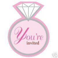 Great invitations to announce you bridal shower!!  Each brand new package contains 25 invitations...