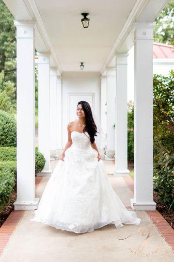 Allandale Mansion Bridal Shot