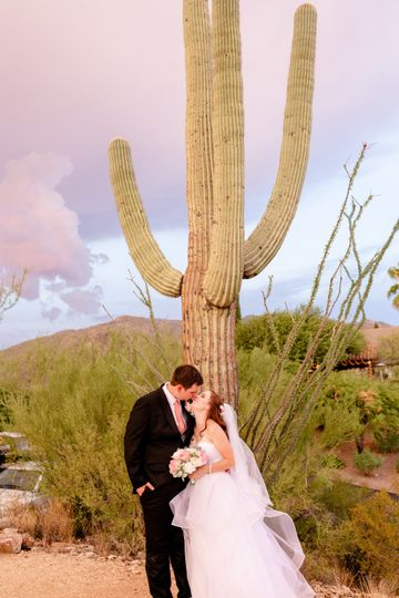 Destination wedding in AZ