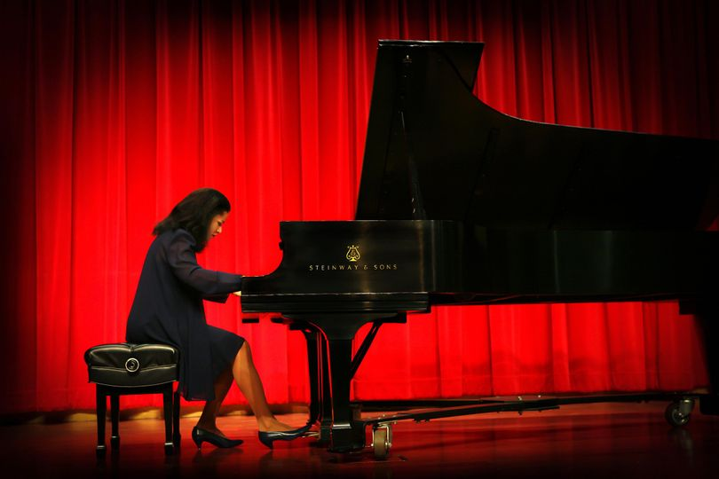 Performing at Riverside City College Digital Library Auditorium