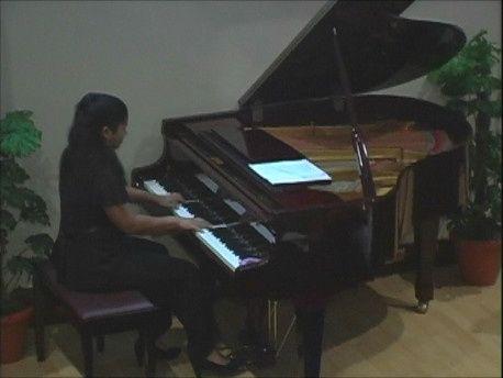 Performing at Caribbean University in Bayamon, Puerto Rico
