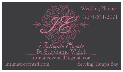 Intimate Events by Stephanie