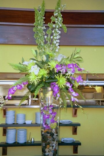 This beautiful arrangement was seen at High Cotton for the Craig Gaulden and Davis 50th anniversary...