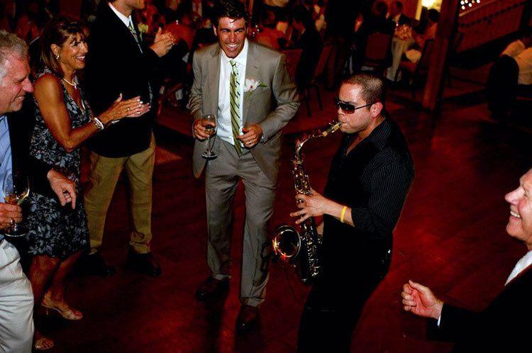 jeremy valadez on the wedding dance floor for onli