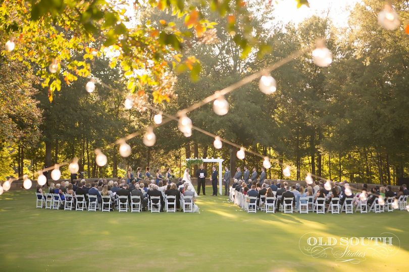Ceremony on Event Lawn