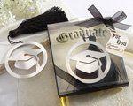 The Next Chapter� Graduation Bookmark with Elegant Black Tassel