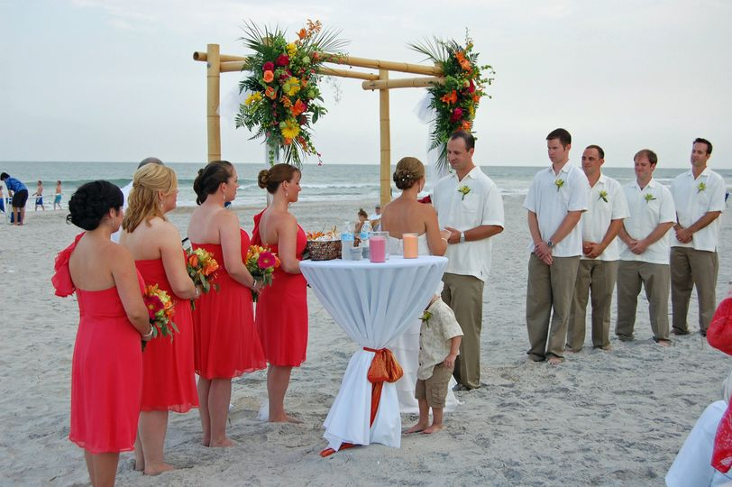 Can I Have A Wedding Ceremony On North Topsail Beach