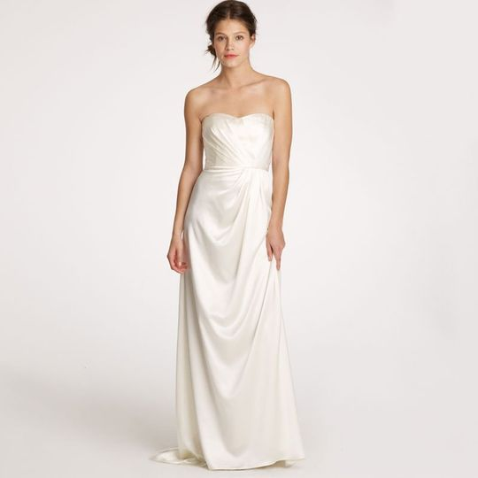 J Crew Wedding Dress.J Crew Weddings Parties Dress Attire New York Ny