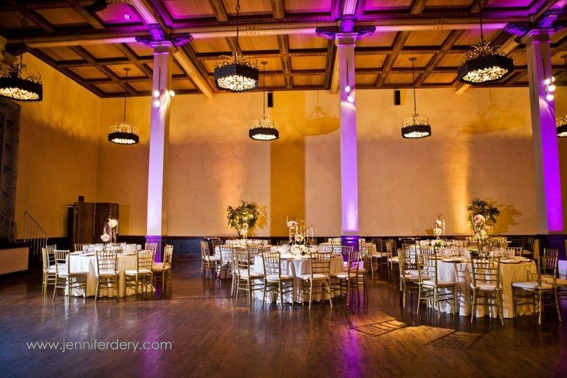 Ballroompurpleuplights