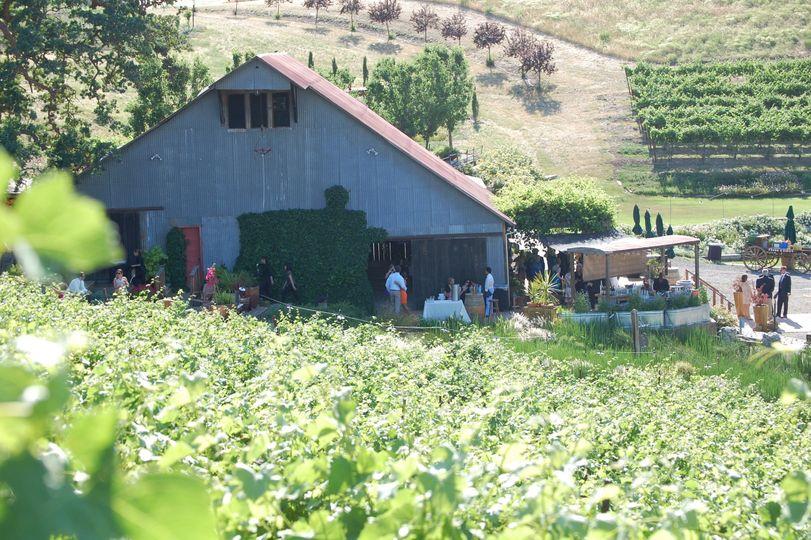 e49356f49e2f3f3c Barn View from Grapes