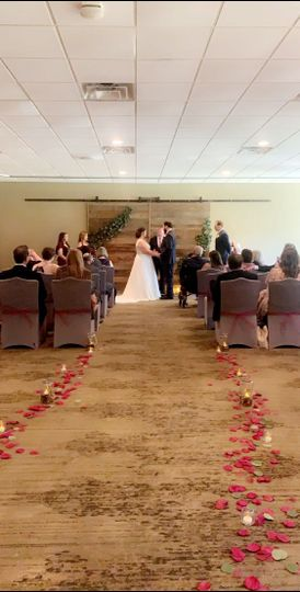 Small and Intimate Ceremony
