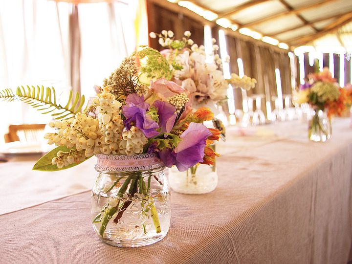 Tmx 1429886763215 Country Rustic Wedding Reception Floral Centerpiec Chelsea, MA wedding florist