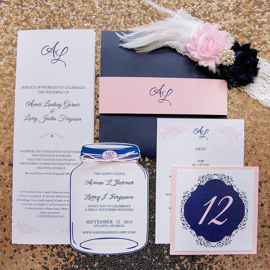 From Sir With Love Invitations Atlanta GA WeddingWire