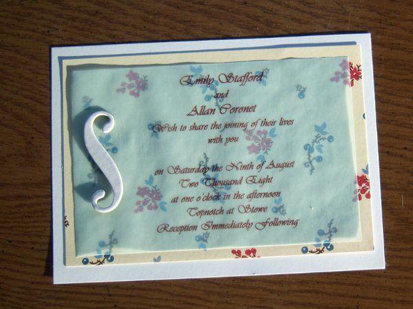 Tmx 1211075535246 100 2110 Hyde Park wedding invitation