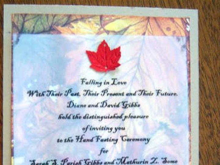 Tmx 1302712566864 10004512 Hyde Park wedding invitation
