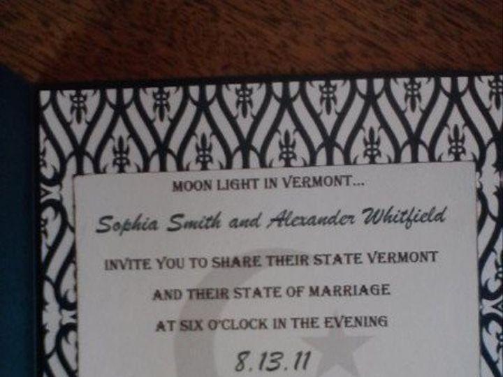 Tmx 1305046285485 P1304110957 Hyde Park wedding invitation