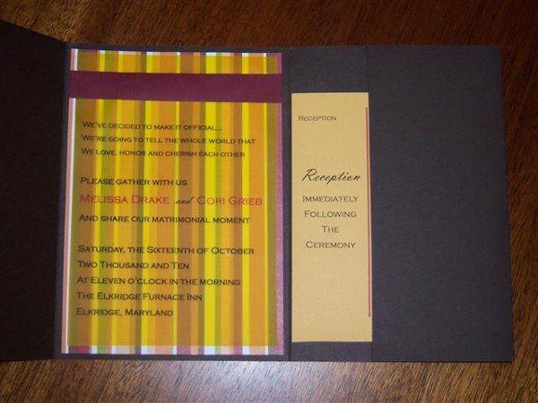Tmx 1312234379640 0212 Hyde Park wedding invitation