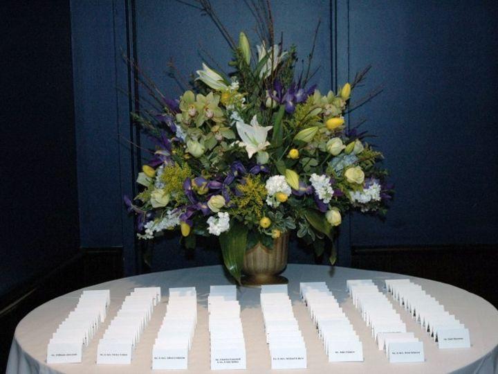Tmx 1373644731266 Escort Table 11 New York, NY wedding florist