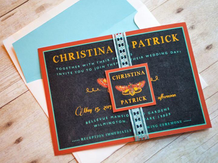 Tmx 1370962364832 Butterflyinvite 001 Wilmington wedding invitation