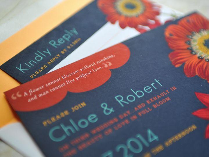 Tmx 1371961691990 Redflowers 004 Wilmington wedding invitation
