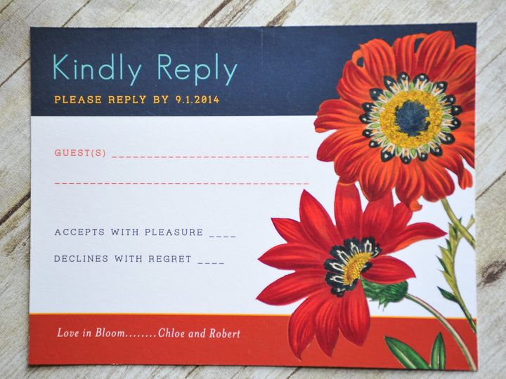Tmx 1371961697441 Redflowers 006 Wilmington wedding invitation