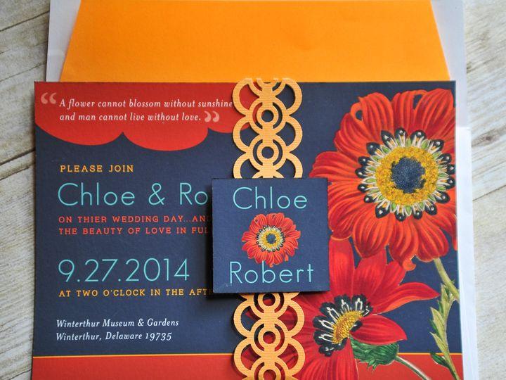 Tmx 1371961703182 Redflowers 008 Wilmington wedding invitation