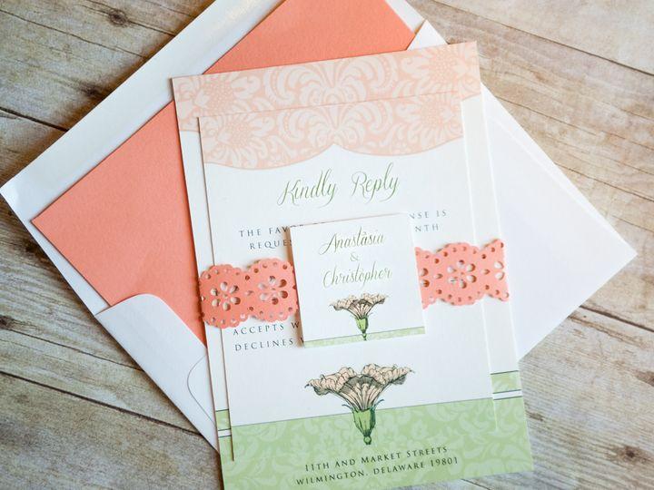 Tmx 1372267713313 Petuniainvite 001 Wilmington wedding invitation
